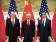 米中の閣僚級貿易協議